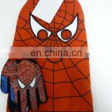 Boy's knitted new style spider man funny retaining cap
