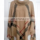 Indian Handmade Ladies Casual Wool Blend Beige Color Cardigan Coat Knitwear Sweater Party Wear Top Style Dress Jacket Top
