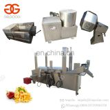 Commercial Supply Sweet Pringels French Fries Making Frying Machine Full Automatic Potato Chips Production Line For Sale