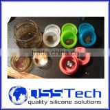 High quality 7ml customized small multi-purpose can opener/ oil dab wax container/ silicone wax and oil container