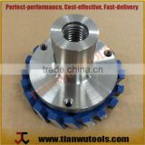Flange Adapter - 1/2' gas for D87mm double threaded milling cutter