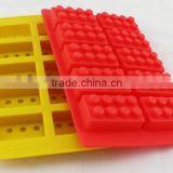 Bricks shaped ice cube trays silicone