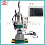 high quality manual leather logo embossing hot foil stamping machine