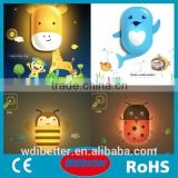 Animal Shape Nightlight Light Control Nightlight For Children Baby Nightlight                                                                         Quality Choice