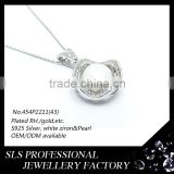 Popular jewelry accessory making in Guangzhou hot sale pearl pendant designs for women Image