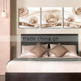 NEW ARRIVAL 3d Oil Painting Printed On Canvas 3 pcs Flowers Wall Art Picture For livingroom F-035