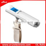 LED flashlight torch usb rechargeable mini led torch with power bank and weighing scale function