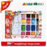 yirun 5MM fuse perler 10000 beads/box 16 colors with peg board jewelry beading kits