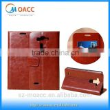 China Wholesale printing wallet stand leather case for lg g3