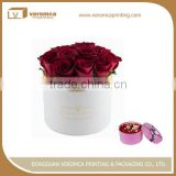 Hot selling cylindrical flower tube box