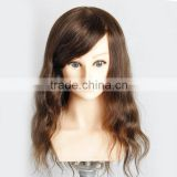 New arrival 100% human hair female training mannequin head with shoulder