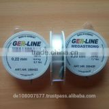 German monofilament nylon fishing line super quality with great strenghth and resistance 500M clear