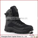 black leather wedge military boot army military boots //Military Tactical Boots Combat Boots Leather Boots