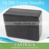TK200 3 years standy remote turn on/off phone number gps tracker tristar gps car tracker