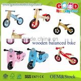 new design educational wooden kids balance bike toys for 3-5 years old