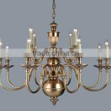 high technology brass pendant lamp classical for lobby