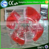 Best selling funny giant human half color tpu bubble soccer bubble ball                                                                                                         Supplier's Choice