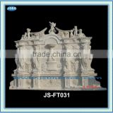large outdoor lady marble wall waterfall fountains