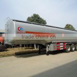 40 cbm Fuel Tanker Trailer for sale,40000L Petrol Or Diesel truck trailer for sale, 40000 liters oil tank trailer.