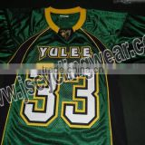 Hot selling sublimated american football jersey for player