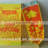 low price quality Paper Popcorn Bags wholesale/wholesale popcorn paper bag with custom printing/good price paper popcorn bag