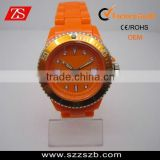 Shenzhen watch factory plastic bezel watches,hottest sale fashion plastic watches,plastic watches manufacturer