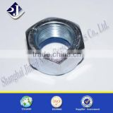 hardware supplies carbon steel zinc plated hex nylon lock nut                                                                         Quality Choice