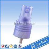 2014 new china sun rain blue perfume plastic fine mist sprayer, cosmetic bottles spray and pump, perfume pump sprayer