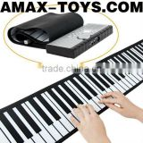 ek-108702E Soft piano 61 keys Portable Digital MIDI Roll-up Soft Electronic Piano Keyboard