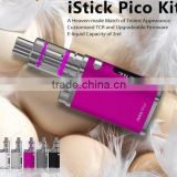 Autentic hot selling ISmoka ISmoka iStick Pico kit with 2.0 ML Atomizer Eleaf Istick Pico 75w Mod fast shipping