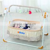 2016 Hot Electric Foldable baby Crib Rocking Bed & Chair with remote control and mosquito net                                                                         Quality Choice                                                     Most Popular