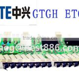ZTE GPON OLT 16 Ports EPON Card for ZTE C300 C320 OLT GTGH ETGH board with 8 B+ C+ C++ modules B+ C+ C++
