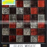 Hot Sale Cheap Marble bathroom tile design Glass Mosaic Tile