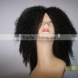 100% synthetic hair wigs