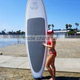 Cheaper white painting SURFING sup stand up paddle boards with paddle