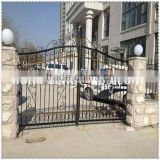 Factory direct hot sale new design cheap wrought Iron fence, metal fence, steel fence for home and garden