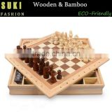 Board Game Family Game Portable Foldable Wooden Chess Set International Chess