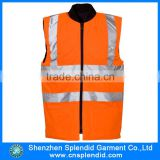 Wholesale winter reflective safety body warmer vest