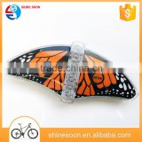 2016 Colorful Butterfly Lamp LED Decorative Bike Light Customized