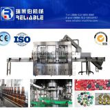 3 in 1 Crown Cap Automatic Beer Filler Machine