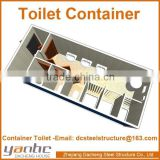 Prefabricated Shipping Modern Integrated Sanitary Container Low Price with Bathroom Toilet