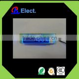 battery negative character segment electric bike custom lcd module , blue led charger display