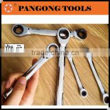 Chrome Vanadium Double Ratchet Offset Ring Spanner                                                                         Quality Choice
