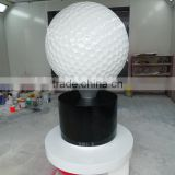 Fiberglass Large Golf Ball Statue Fiberglass Giant Golf Ball