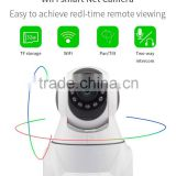 Vitevision motorized ptz 360 degree wifi wireless ip cctv camera with two way audio                                                                         Quality Choice