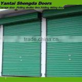 automatic garage door galvanized steel roller up door with rubber strip door seal