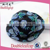 2015 Hot Selling Summer Fruit Print Bucket Hat Female Boonie Hunting Fishing Outdoor Hat