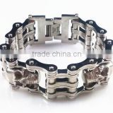YM009 Brand new stainless steel skull biker chain                                                                         Quality Choice
