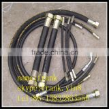 Hydraulic Wire-netted Colloidal High Pressure Withhold Rubber Hose Assembly