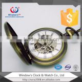 Hot Selling China Manufacturer Wholesale Custom Made Eco-Friendly Vintage Quartz Antique Pocket Watch
